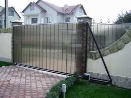 Откатные автоматические ворота 1